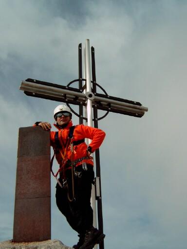 Foto: Andreas Koller / Klettersteigtour / Sass Rigais Ostgrat-Westgrat Klettersteige (3025 m) / 09.05.2008 14:53:06