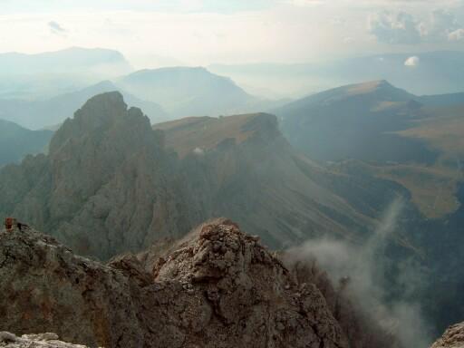 Foto: Andreas Koller / Klettersteigtour / Sass Rigais Ostgrat-Westgrat Klettersteige (3025 m) / 09.05.2008 14:52:59