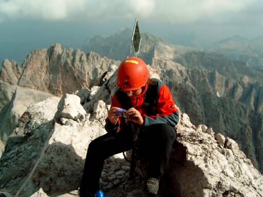 Foto: Andreas Koller / Klettersteigtour / Sass Rigais Ostgrat-Westgrat Klettersteige (3025 m) / 09.05.2008 14:52:44