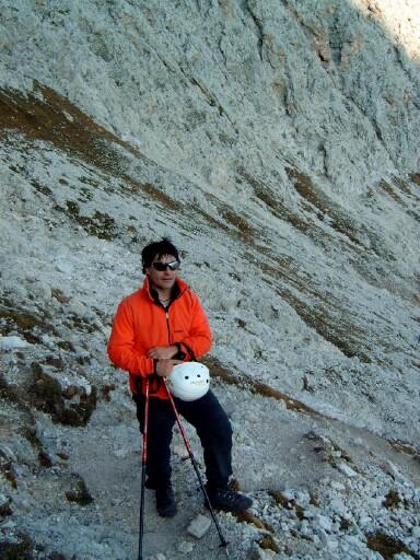 Foto: Andreas Koller / Klettersteigtour / Sass Rigais Ostgrat-Westgrat Klettersteige (3025 m) / 09.05.2008 14:51:59