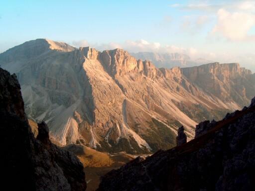 Foto: Andreas Koller / Klettersteigtour / Sass Rigais Ostgrat-Westgrat Klettersteige (3025 m) / 09.05.2008 14:51:51
