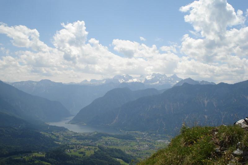 Foto: Günter Siegl / Klettersteigtour / Ewige Wand-Klettersteig und Leadership-Klettersteig / Landschaftsfinale am Predigtstuhl / 06.06.2011 09:27:52