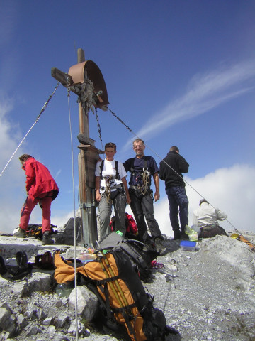 Foto: Wolfgang Lauschensky / Klettersteig Tour / Über den Schlicker Klettersteig auf die Große Ochsenwand / Großes Ochsenhorn / 11.10.2012 09:31:10