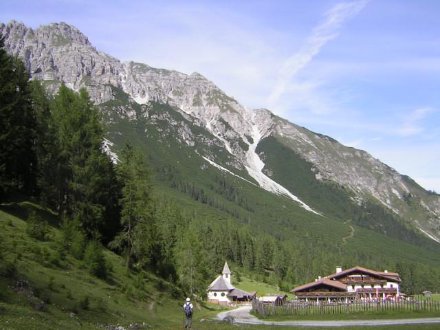 Foto: Wolfgang Lauschensky / Klettersteig Tour / Über den Schlicker Klettersteig auf die Große Ochsenwand / Schlickeralm / 11.10.2012 09:30:19