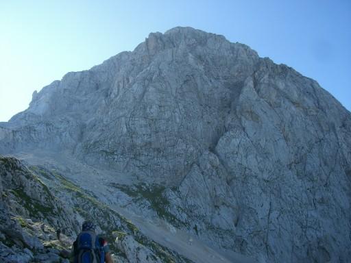 Foto: winsch / Klettersteig Tour / Slowenischer Klettersteig auf den Mangart (2677m) / Slow. Klettersteig / 27.08.2009 20:36:54