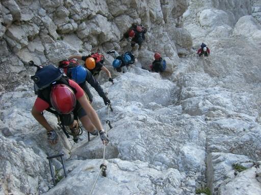 Foto: winsch / Klettersteig Tour / Slowenischer Klettersteig auf den Mangart (2677m) / 27.08.2009 20:37:54