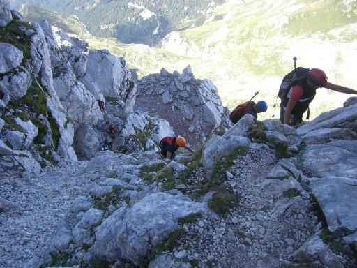Foto: winsch / Klettersteig Tour / Slowenischer Klettersteig auf den Mangart (2677m) / 27.08.2009 20:38:04