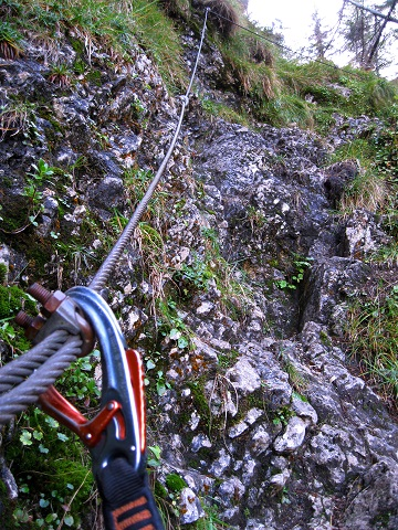 Foto: Andreas Koller / Klettersteig Tour / Gaislochsteig (1922m) / 05.04.2014 14:01:38