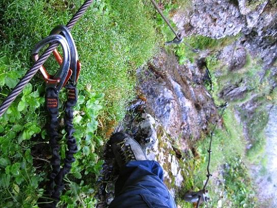 Foto: Andreas Koller / Klettersteig Tour / Gaislochsteig (1922m) / 05.04.2014 14:01:58