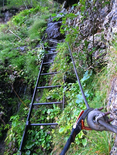Foto: Andreas Koller / Klettersteig Tour / Gaislochsteig (1922m) / 05.04.2014 14:02:05
