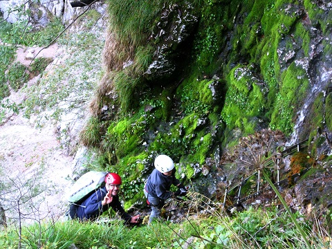 Foto: Andreas Koller / Klettersteig Tour / Gaislochsteig (1922m) / 05.04.2014 14:02:27
