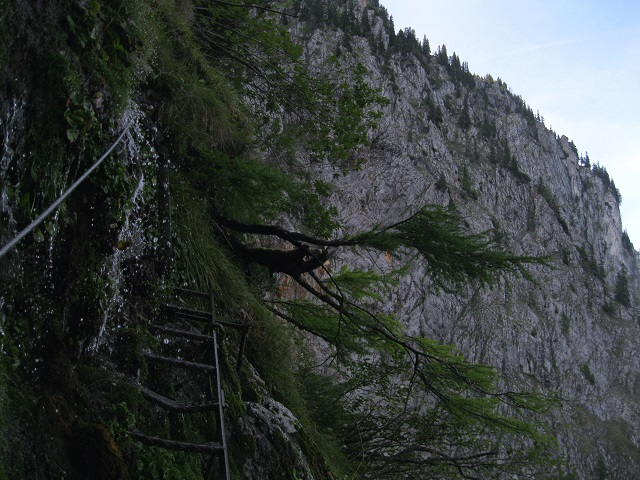 Foto: Andreas Koller / Klettersteig Tour / Gaislochsteig (1922m) / 05.04.2014 14:02:38
