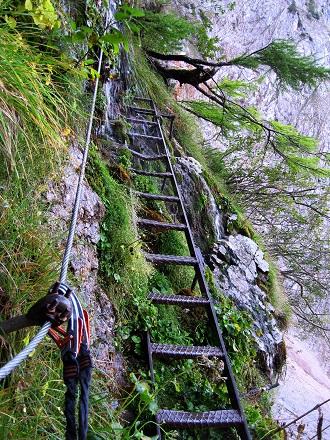 Foto: Andreas Koller / Klettersteig Tour / Gaislochsteig (1922m) / 05.04.2014 14:02:47