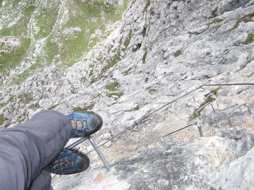 Foto: hofchri / Klettersteig Tour / Grandlspitz-Klettersteig / äußerst exponiert / 02.08.2010 21:19:22