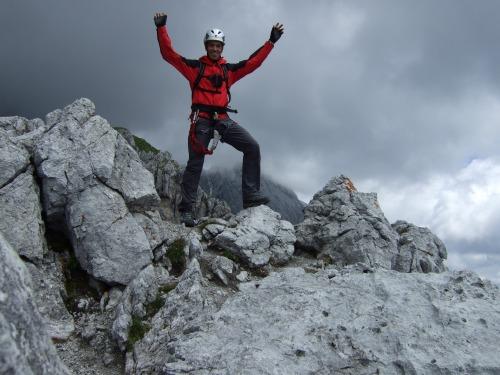 Foto: hofchri / Klettersteig Tour / Grandlspitz-Klettersteig / der Grandlspitzgipfel / 02.08.2010 21:20:53