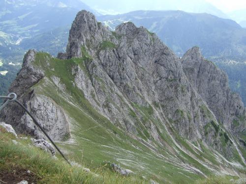 Foto: hofchri / Klettersteig Tour / Grandlspitz-Klettersteig / Ausstieg mit Taghaube / 02.08.2010 21:21:09