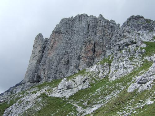 Foto: hofchri / Klettersteig Tour / Grandlspitz-Klettersteig / in der Taghaubenscharte / 02.08.2010 21:17:17