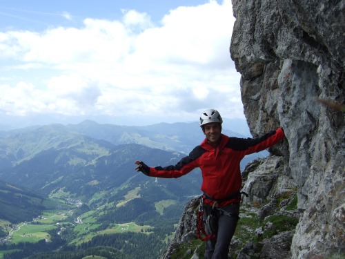 Foto: hofchri / Klettersteig Tour / Grandlspitz-Klettersteig / am Einstieg / 02.08.2010 21:17:31