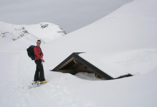 Foto: hofchri / Skitour / Von der Felseralm auf die Glöcknerin (2433m) / 21.12.2008 14:20:22