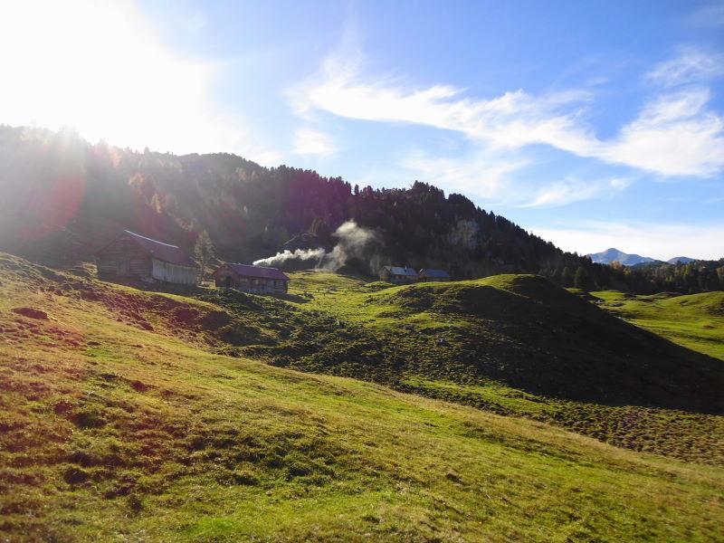 Foto: Günter Siegl / Wander Tour / Ahornsee - Grafenbergalm - Kufstein (2049m) / Grafenbergalm / 31.10.2014 10:19:08