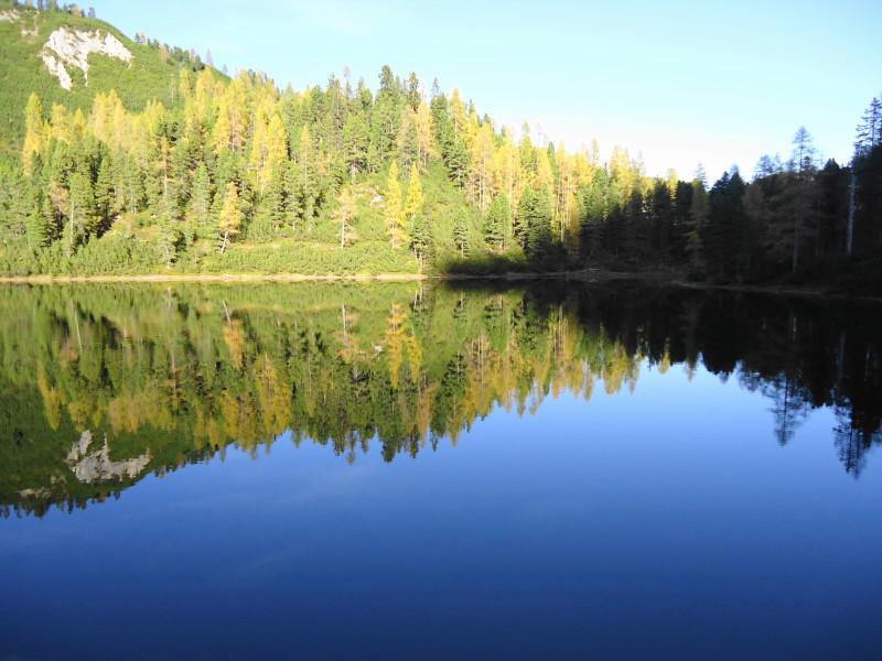 Foto: Günter Siegl / Wander Tour / Ahornsee - Grafenbergalm - Kufstein (2049m) / 31.10.2014 10:20:00