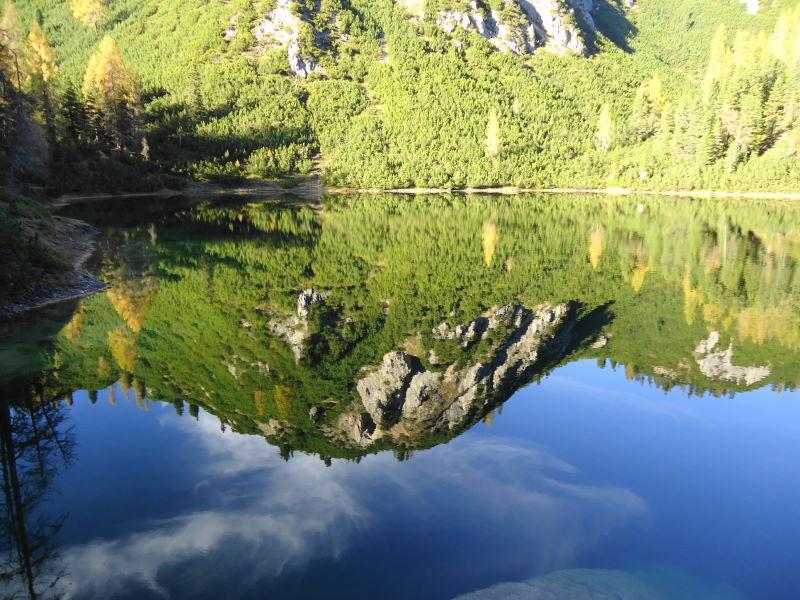 Foto: Günter Siegl / Wander Tour / Ahornsee - Grafenbergalm - Kufstein (2049m) / 31.10.2014 10:20:10