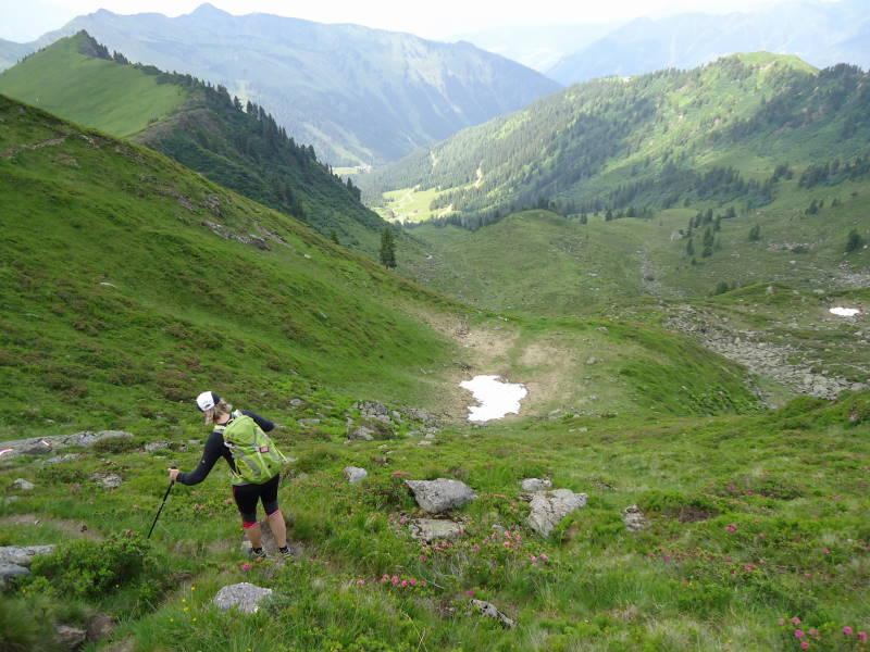 Foto: Günter Siegl / Wander Tour / Finsterkarsee - Finsterkarspitz / Abstieg Mörsbachhütte / 25.07.2013 21:14:40