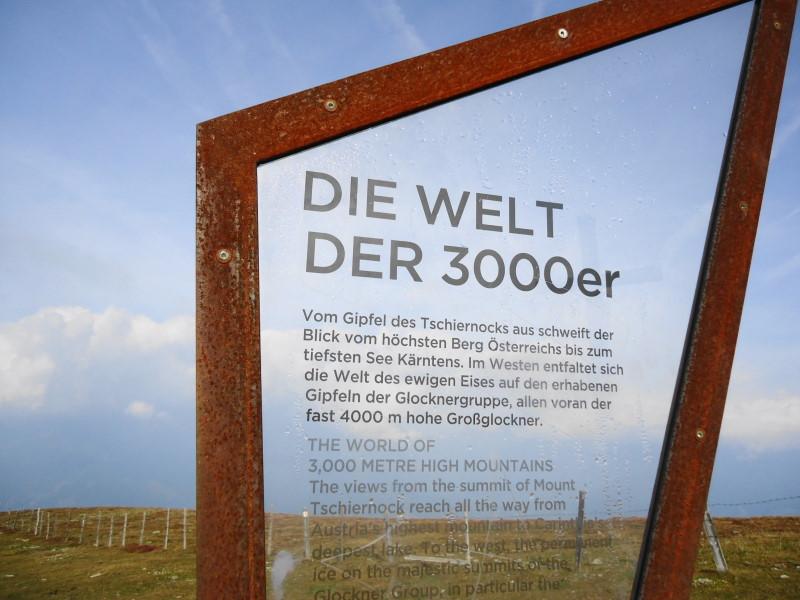 Foto: Günter Siegl / Wander Tour / Rundweg über Tschiernock, Hochpalfennock und Tschierweger Nock / 10.11.2016 21:08:15