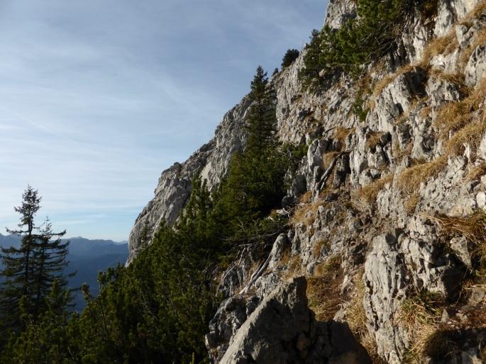 Foto: Manfred Karl / Wander Tour / Brettgabel (1805m) / Schrofenquerung / 26.10.2016 12:19:52