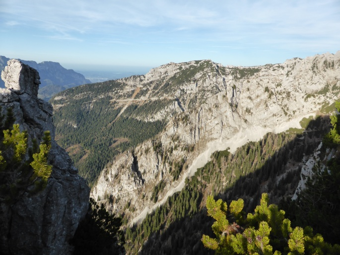 Foto: Manfred Karl / Wander Tour / Brettgabel (1805m) / Kehlstein / 26.10.2016 12:18:35