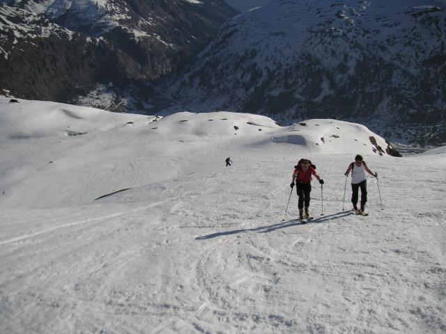 Foto: Wolfgang Lauschensky / Skitour / Von Sportgastein auf das Schareck / im Schlapperebenkar / 22.04.2012 18:24:40