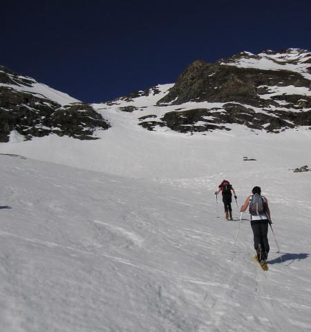 Foto: Wolfgang Lauschensky / Skitour / Von Sportgastein auf das Schareck / Richtung Keesauge / 22.04.2012 18:24:25