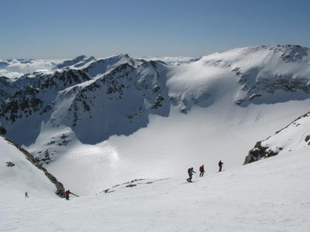 Foto: Wolfgang Lauschensky / Skitour / Von Sportgastein auf das Schareck / Schlapperebenkees und -spitzen / 22.04.2012 18:24:15