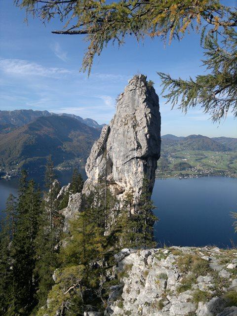Foto: goldengel80 / Wandertour / Über den Naturfreundesteig auf den Traunstein / 03.10.2013 09:39:55