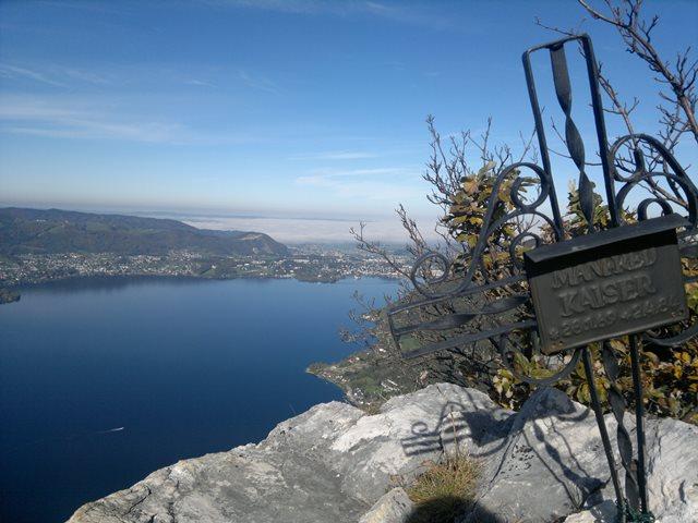 Foto: goldengel80 / Wandertour / Über den Naturfreundesteig auf den Traunstein / 03.10.2013 09:40:39