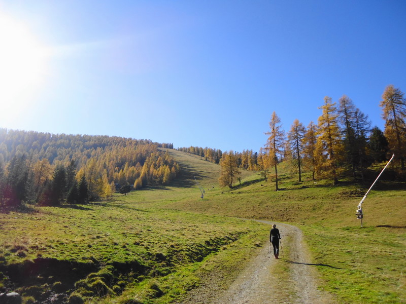 Foto: Günter Siegl / Wander Tour / Kruckenspitze, 1886 m / 06.11.2014 19:38:26