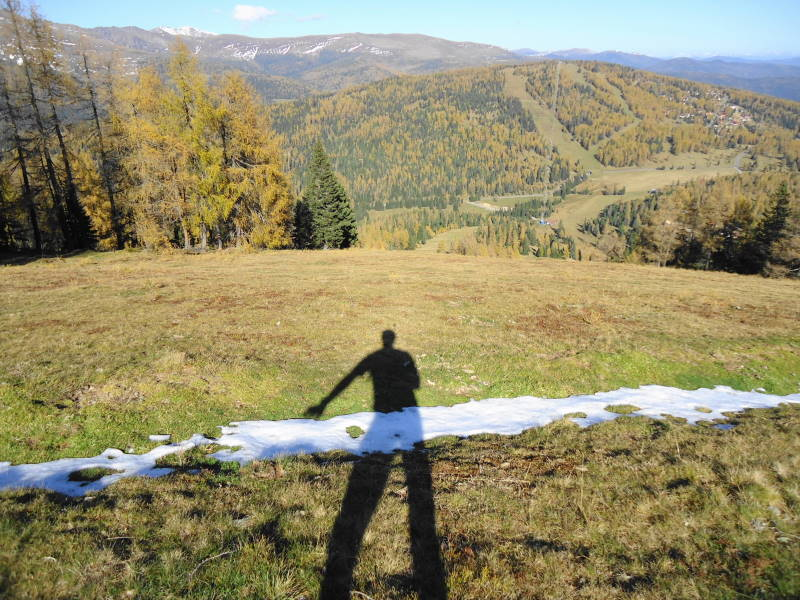 Foto: Günter Siegl / Wander Tour / Kruckenspitze, 1886 m / Blick zu Wintertalernock / 06.11.2014 19:37:57