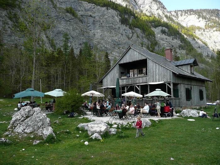 Foto: Lenswork.at / Ch. Streili / Wander Tour / Rund um den Altausseer See / Gasthof Seewiese / 15.05.2008 21:27:50