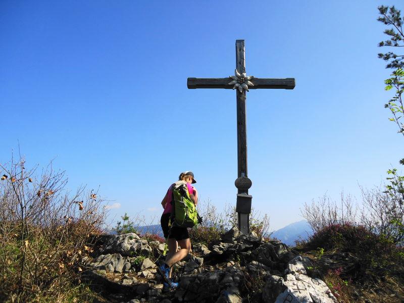 Foto: Günter Siegl / Wander Tour / Auf den Kleinen und Großen Barmstein / Gipfel Gr. Barmstein / 04.05.2017 20:47:37
