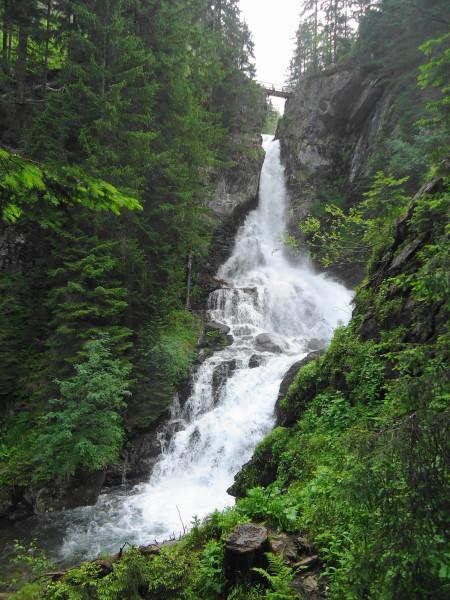 Foto: Günter Siegl / Wandertour / Alpinsteig Höll - Wilde Wasser im Untertal / Oberer Riesachfall / 12.07.2015 13:52:09