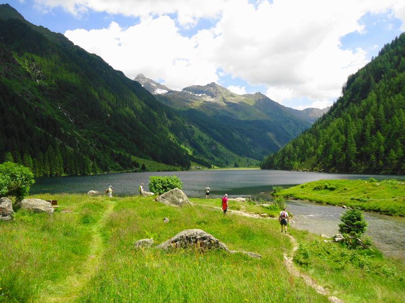 Foto: Günter Siegl / Wandertour / Alpinsteig Höll - Wilde Wasser im Untertal / Riesachsee / 12.07.2015 13:49:21