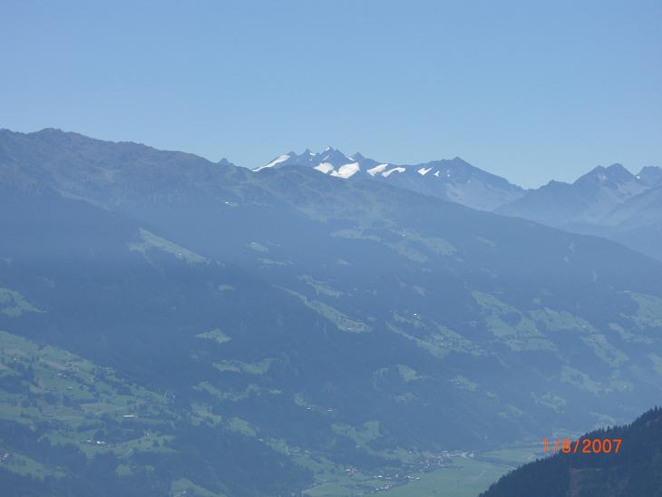 Foto: Charly Weigarten / Mountainbiketour / Kaunzalm / kurzer Abstecher zur Bergstation Spieljochbahn, sehr zu empfehlen, super Ausblick / 02.08.2009 19:52:47