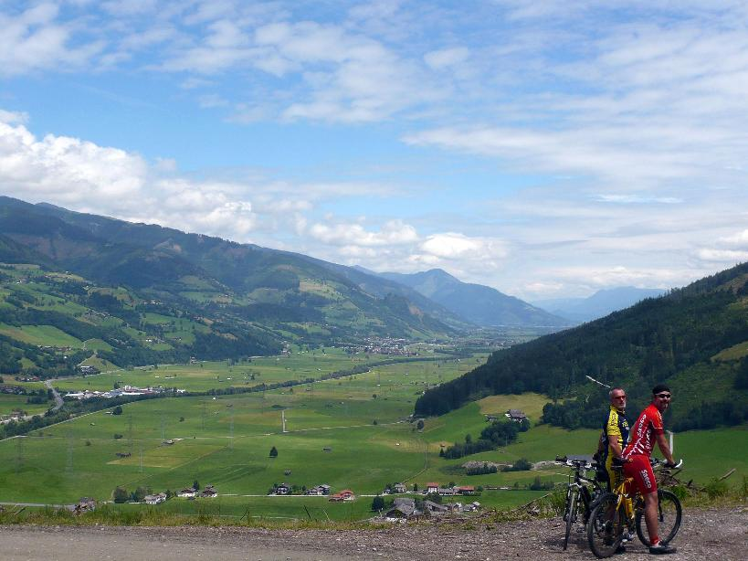 Foto: Tourismusverband Uttendorf/Weißsee / Mountainbike Tour / Scheibelbergrunde / Scheibelbergrunde / 19.04.2012 10:25:26