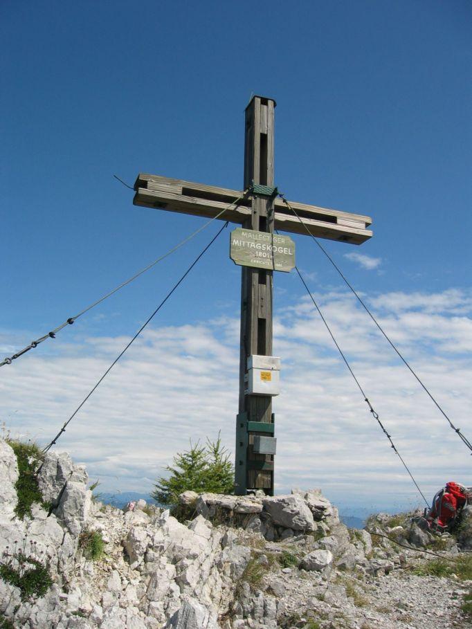 Foto: Gernot Huber / Wander Tour / Mallestiger Mittagskogel / Am Gipfel / 05.03.2010 21:29:26