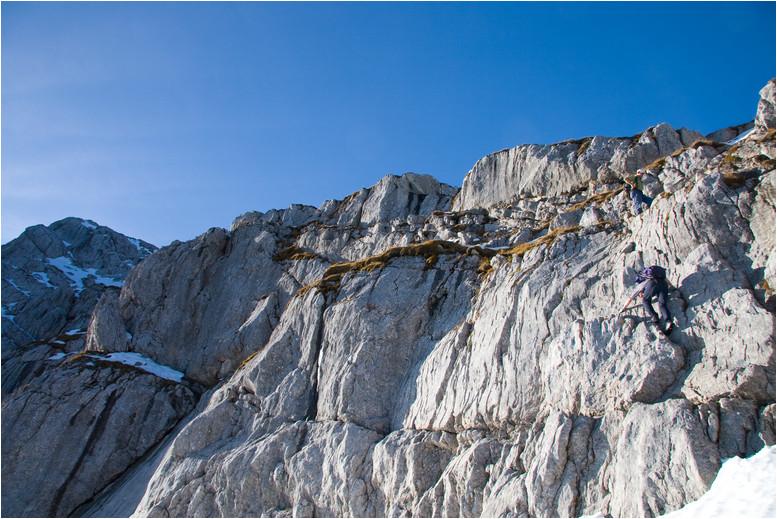 Foto: Rafael Soutschek / Wander Tour / Über die Blaueishütte auf den Hochkalter / 17.05.2009 13:22:42
