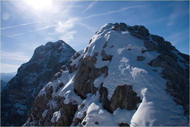 Foto: Rafael Soutschek / Wander Tour / Über die Blaueishütte auf den Hochkalter / Klein- und Hochkalter / 17.05.2009 13:31:26
