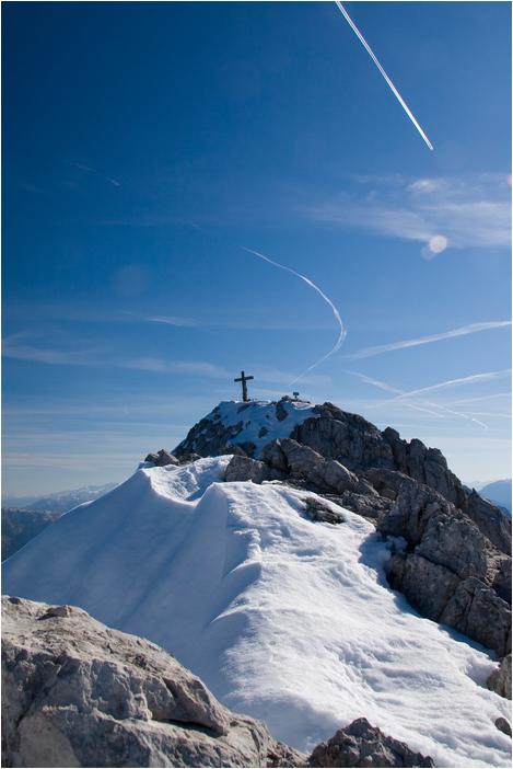 Foto: Rafael Soutschek / Wander Tour / Über die Blaueishütte auf den Hochkalter / Der Hochkalter / 17.05.2009 13:37:34