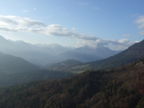 Foto: hofchri / Klettersteig Tour / Hochthron-Klettersteig  / Panorama zur Schönfeldspitze / 23.02.2009 19:34:52