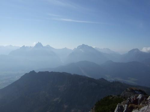 Foto: hofchri / Klettersteig Tour / Hochthron-Klettersteig  / gute Aussicht auf Fernsicht / 23.02.2009 19:42:30