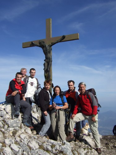 Foto: hofchri / Klettersteig Tour / Hochthron-Klettersteig  / am Gipfel - 1.972 m / 23.02.2009 19:42:51